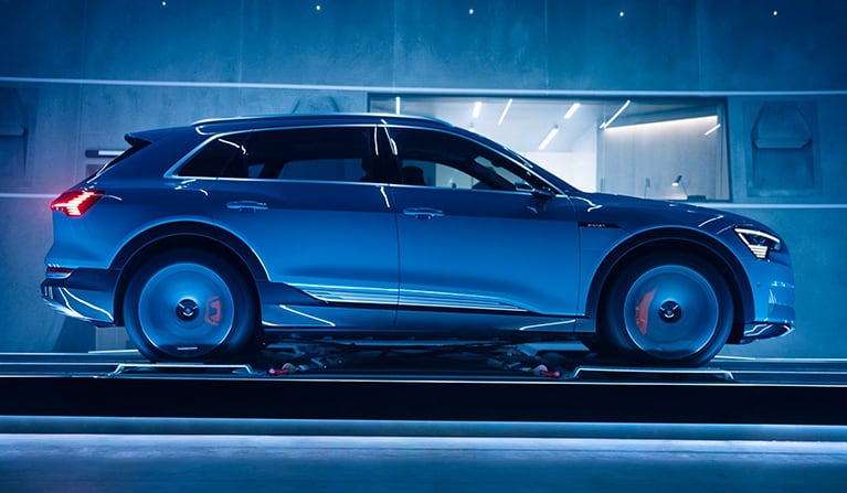 Audi etron Features